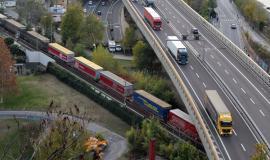 Kombinierter Güterverkehr auf der Brennerachse