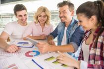 Wirtschaftsbarometer - Dienstleistungen und Transportgewerbe