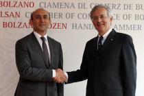Botschafter Ahmadzada und Präsident Ebner