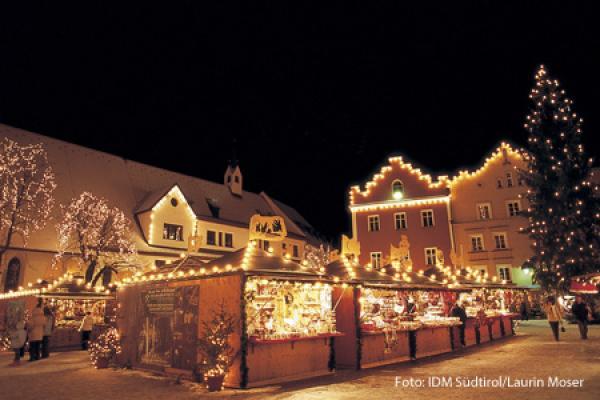 Immagini Di Mercatini Di Natale.Mercatini Di Natale Sono Un Attrazione Importante Camera Di Commercio Di Bolzano