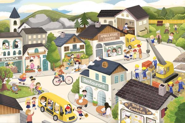 Südtiroler Wimmelbuch für Kinder