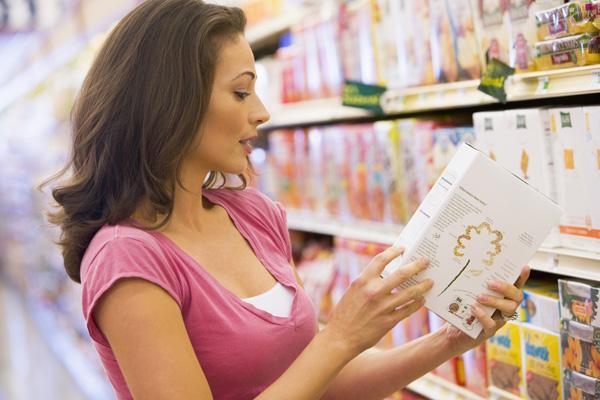 Etikettierung von Lebensmitteln