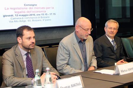 Mathà, Mayr, Ebner